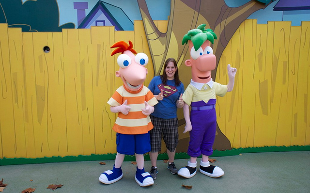 Phineas, Tori, and Pherb