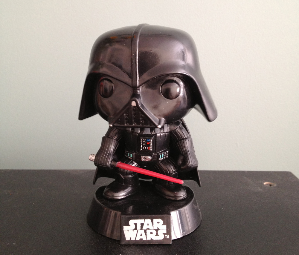 Vador Bobble!!! How cool is this?