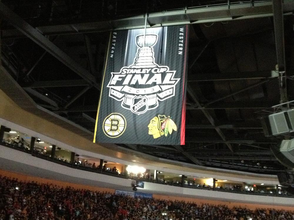 NHL 2013 Finals Banner