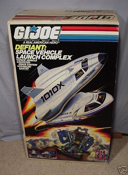 1987 GI Joe Defiant Playset