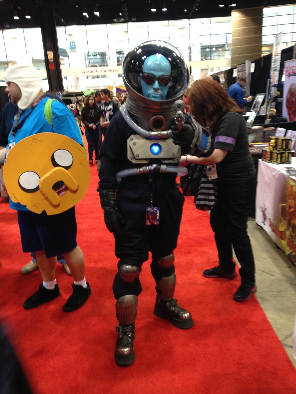 C2E2 Cosplayer - Mr Freeze