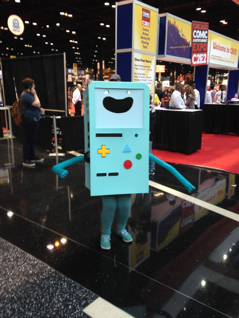 C2E2 Cosplayer - BMO