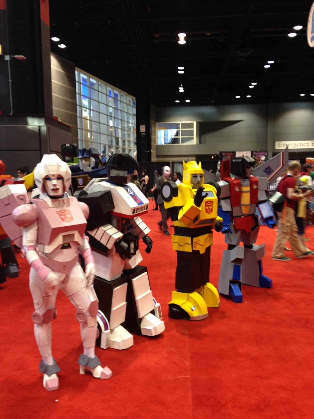 C2E2 Cosplayers - Transformers