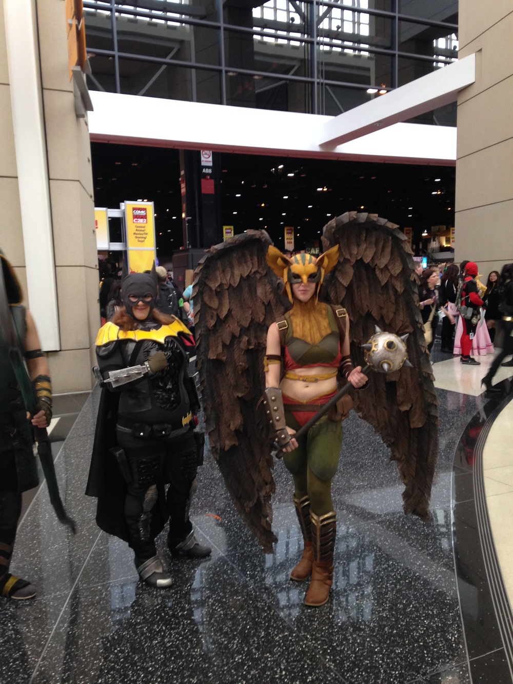C2E2 Cosplayer - Hawk Girl