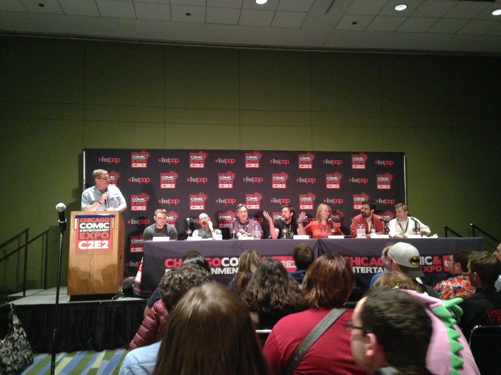 DC Comics Panel