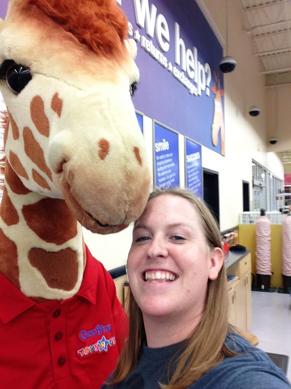 #GiraffeSelfie