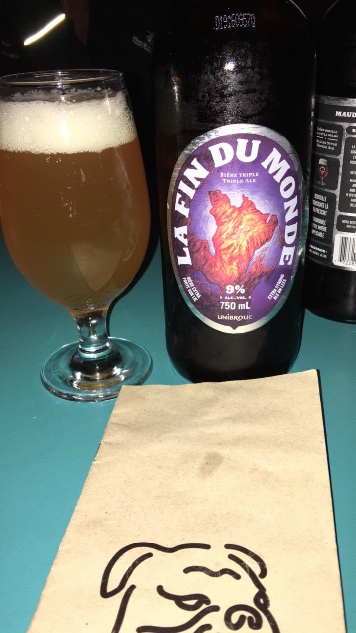 La Fin Du Monde @ Bulldog Beer House