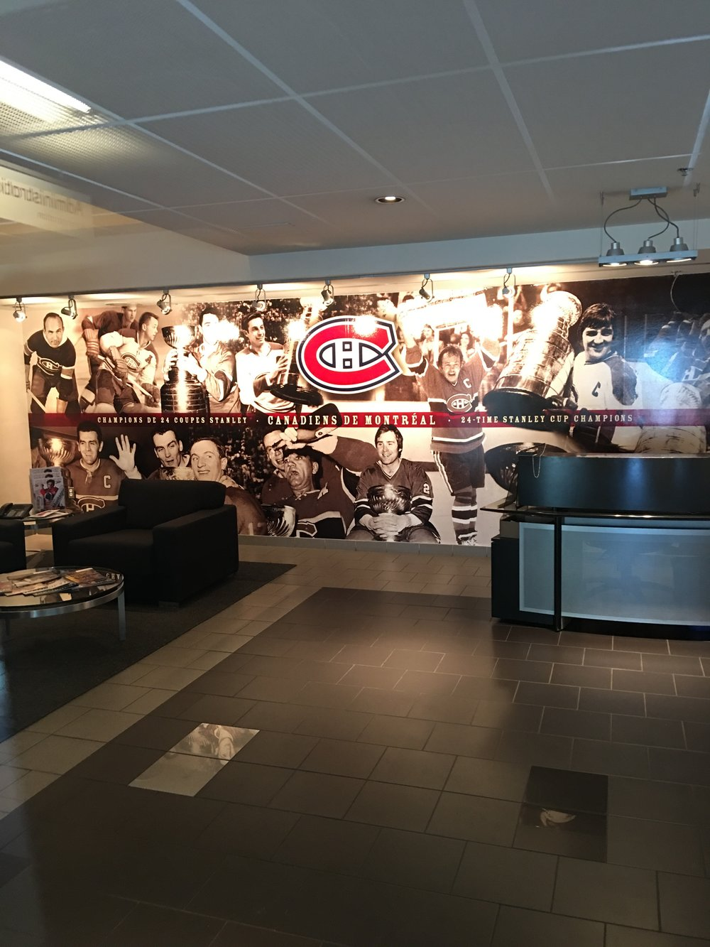 Canadian's front offices at Centre Bell