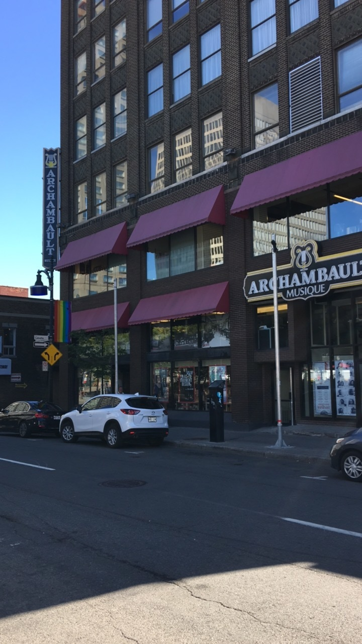 Start of the Montreal Gay district