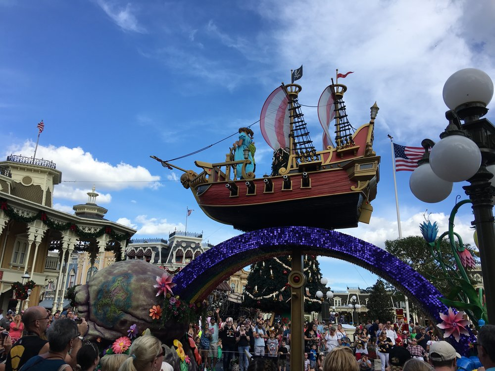 Magic Kingdom parade