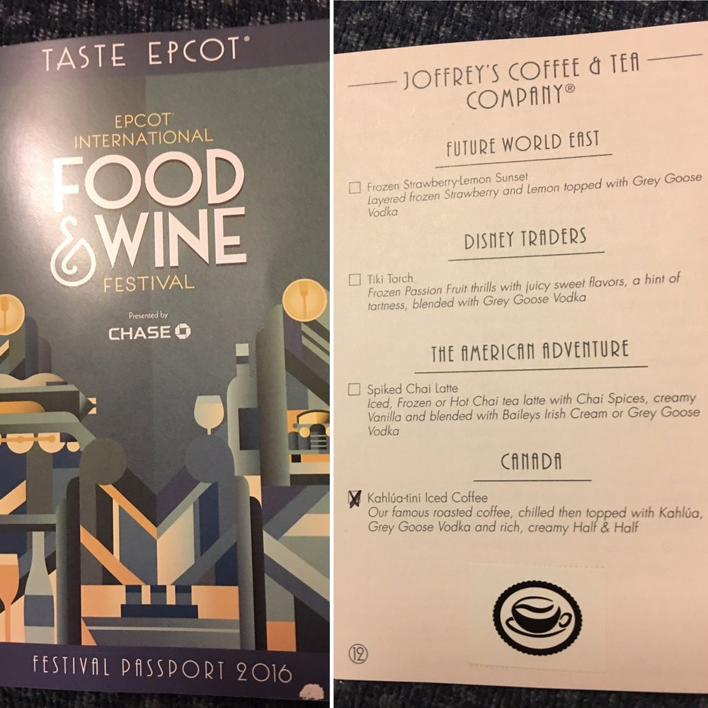 Food and Wine Passport