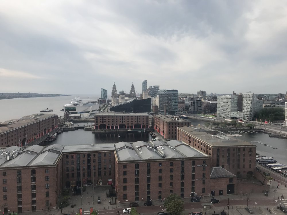 Albert Dock from above