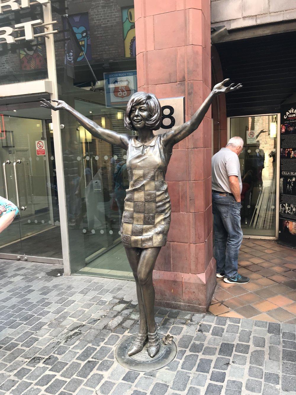 Cillia Black Statue