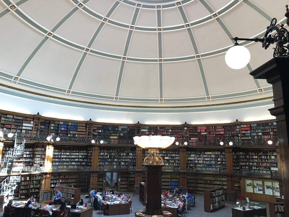 Liverpool Library Reading Room