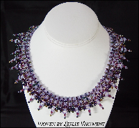 Plum Craaazy  done up by Leslie Wayment -  AA Beads & More