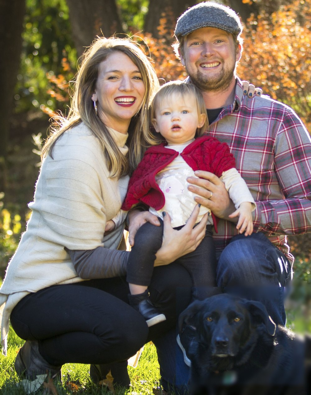 The Knox Family- Jon, Kim, Ginny & Rita
