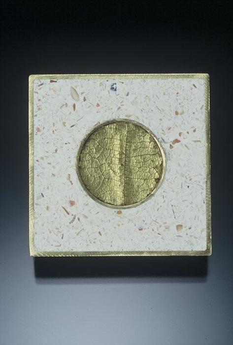 sq. brooch, gold leaf circle.jpg
