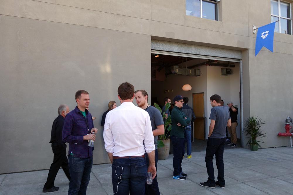 DSC00829 Outside the Dropbox Event.JPG