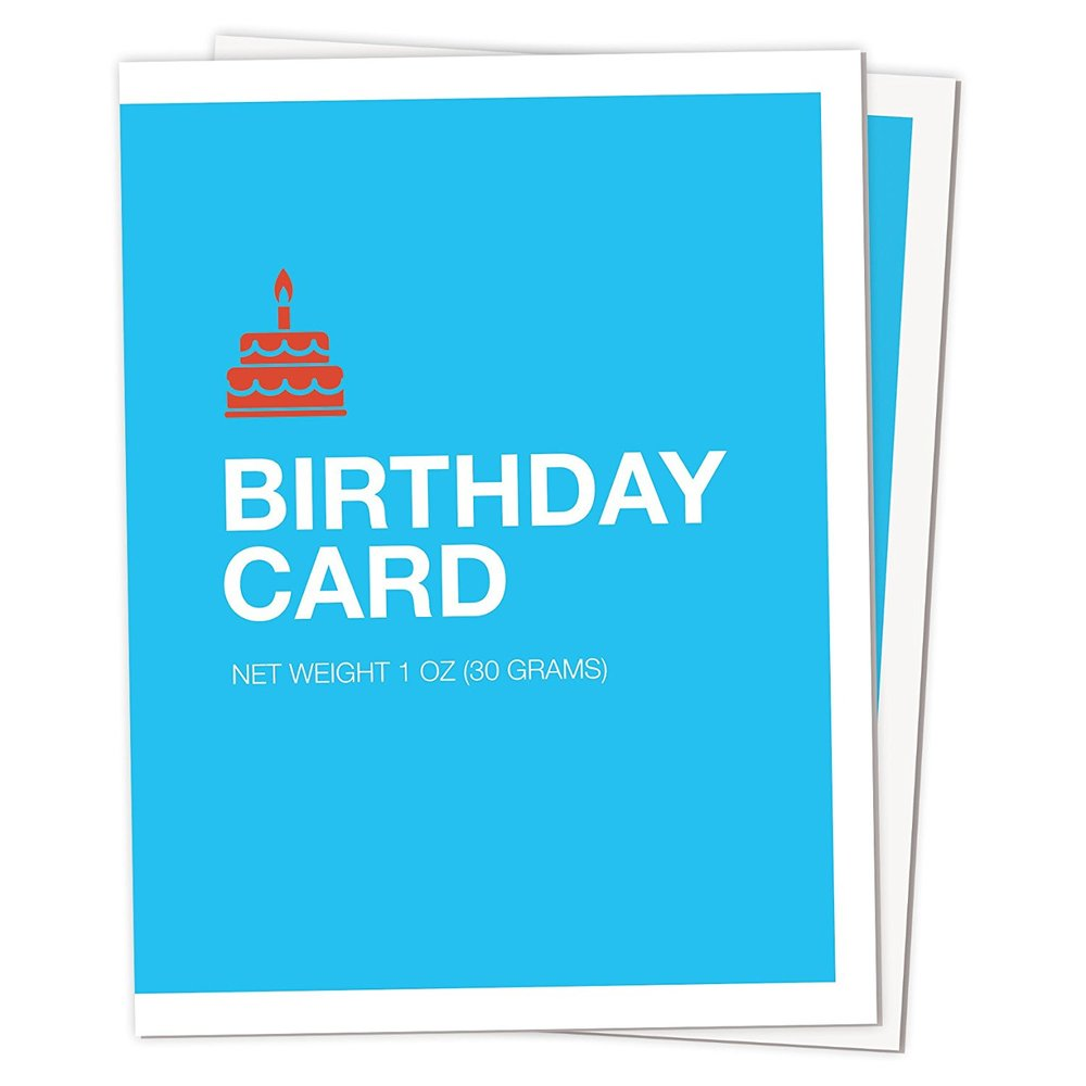 Robotic Emotion Birthday Cards