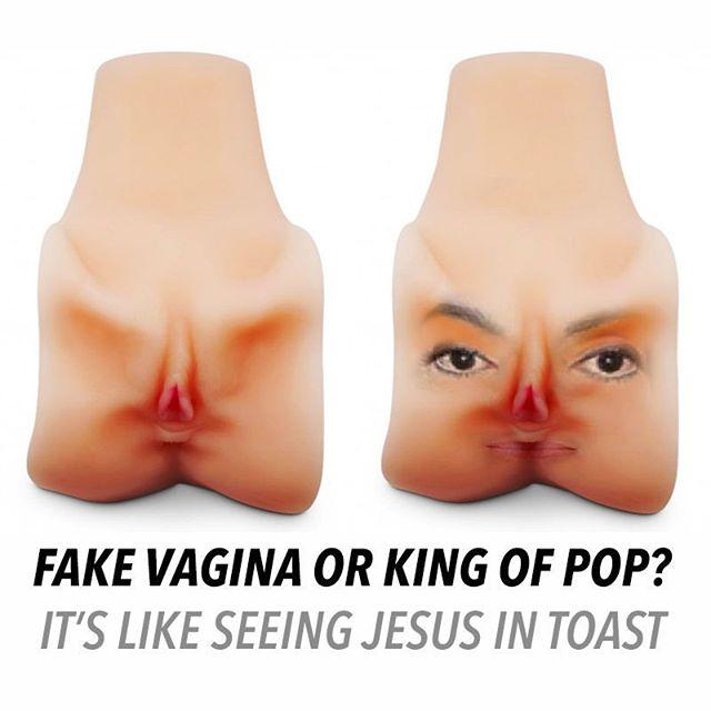 #fakevaginaorkingofpop #vagina #kingofpop #awkward #ahsg #seeingjesusintoast