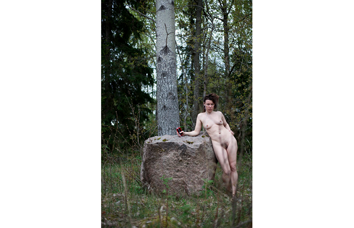 Emma Andrea, Triptych: Looking Under Every Rock, C-Print, 7 x 5 inches, 2012