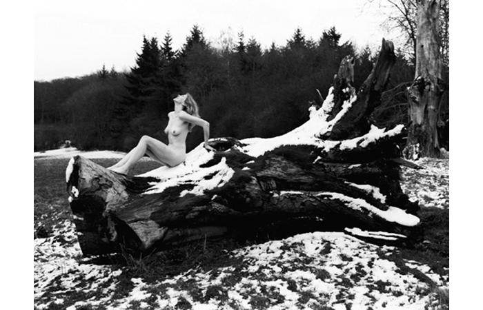 Anastasia Trahanas, No Snow Drops, Silver Gelatin Print, 19 1/2 x 24 inches, 2006
