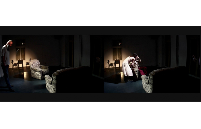 Karolina Magnusson-Murray, Daddy I Have To You, A month of Performance Festival Berlin, 2012.jpg