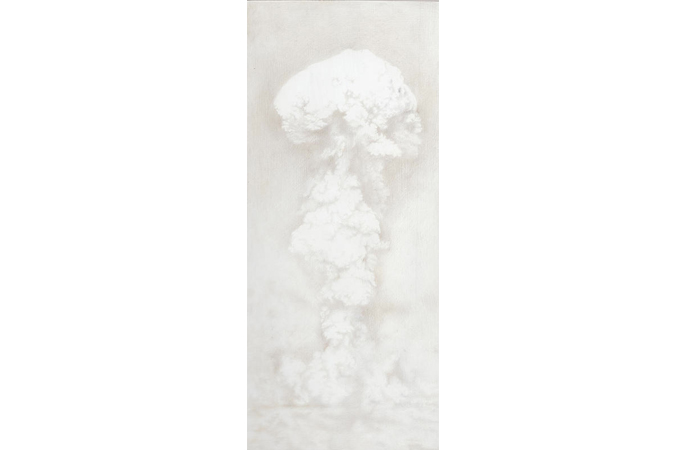 Kirsty Harris, Able, Silverpoint on Gesso Panel, 2.9  x6.6 inches, 2013