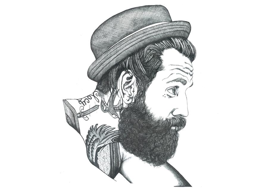 Beard I - Henrietta  Armstrong - 2014.jpg