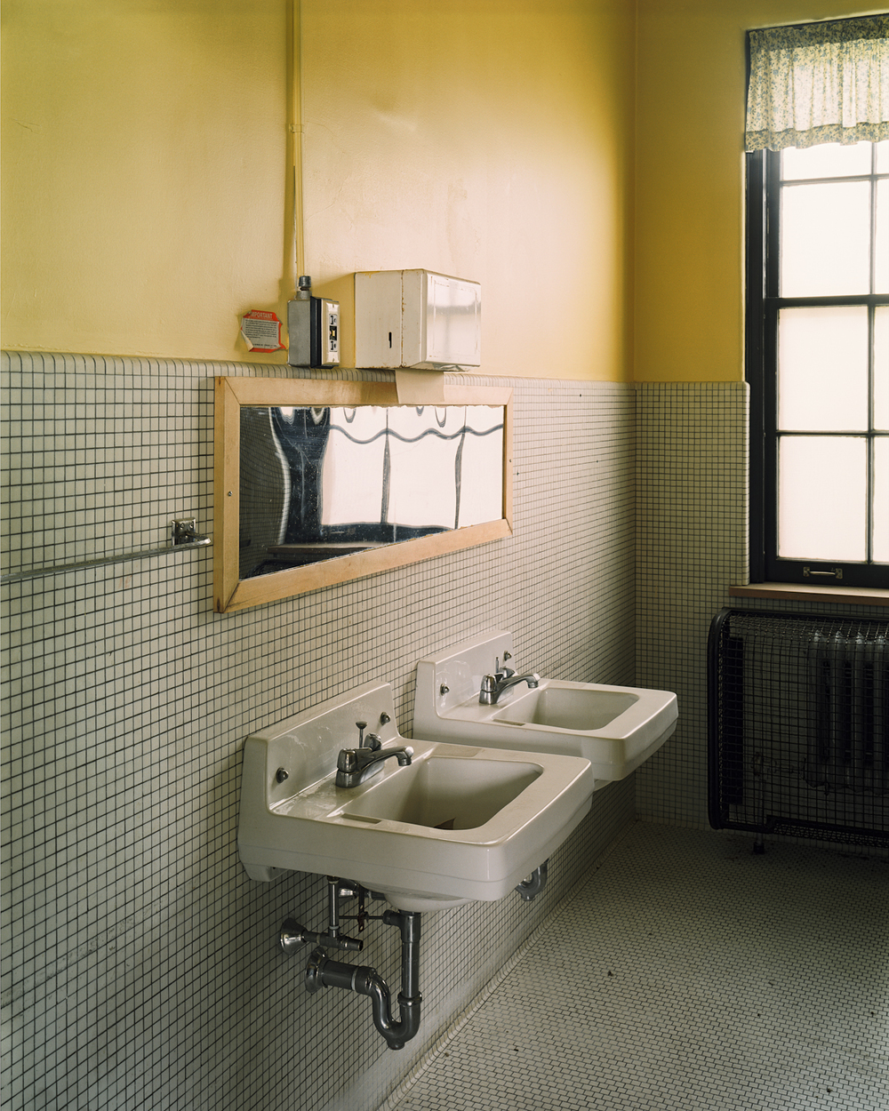 Bathroom sinks, Cottage 2.