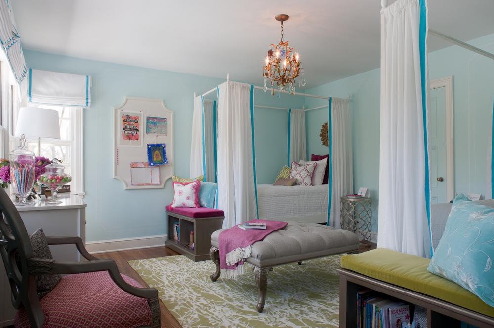 Girls' bedroom, 2014 ASID Showcase Home