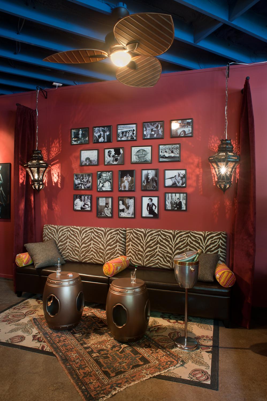 Pool house bar, 2014 ASID Showcase Home
