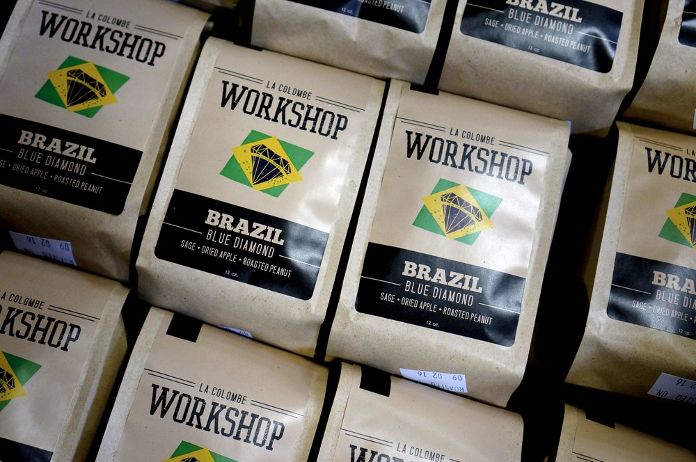 la colombe coffee workshop brazil blue diamond