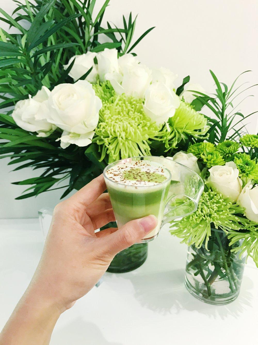 pure leaf tea hot matcha
