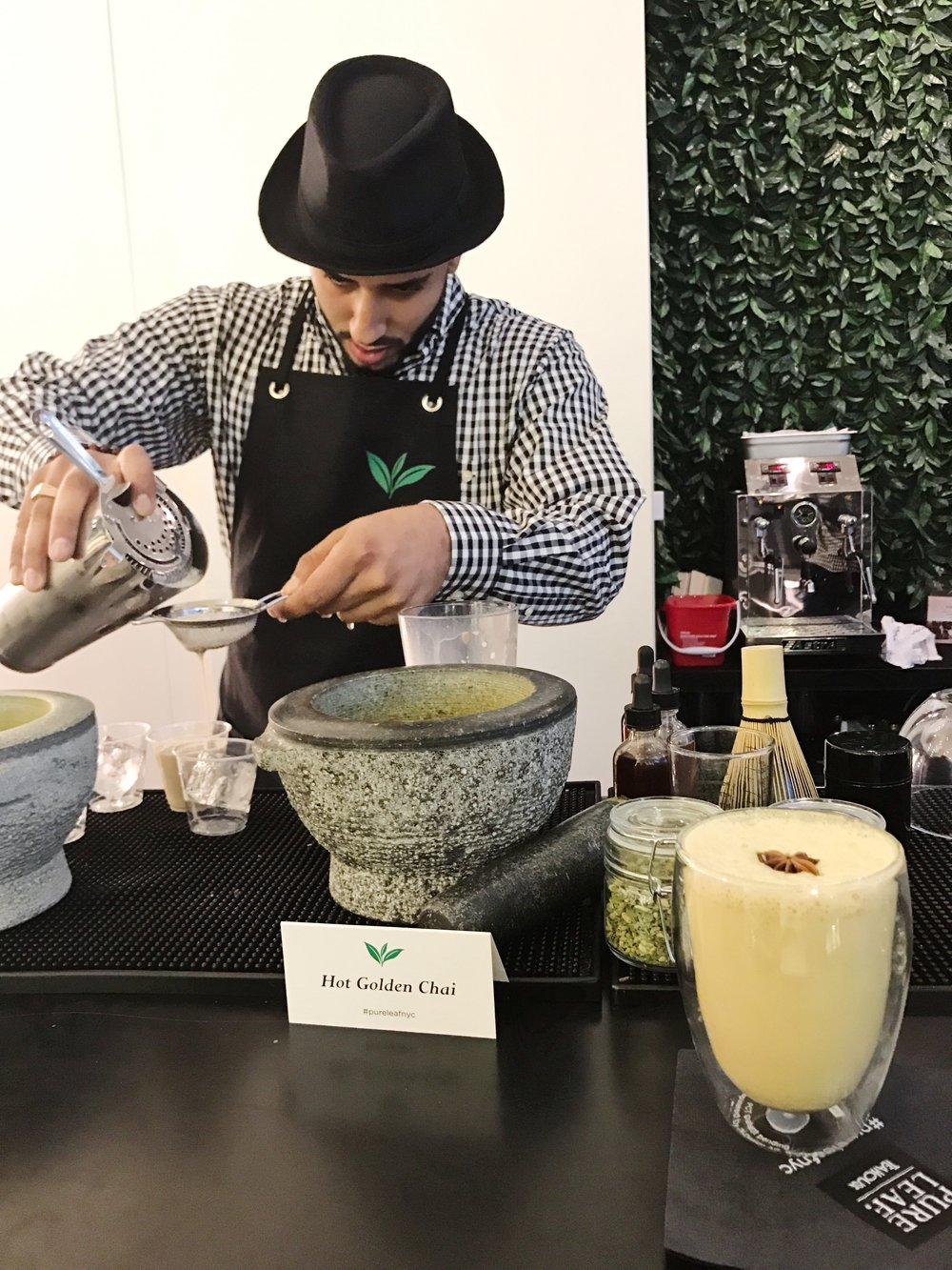 pure leaf tea house nyc teabar tea mixologist