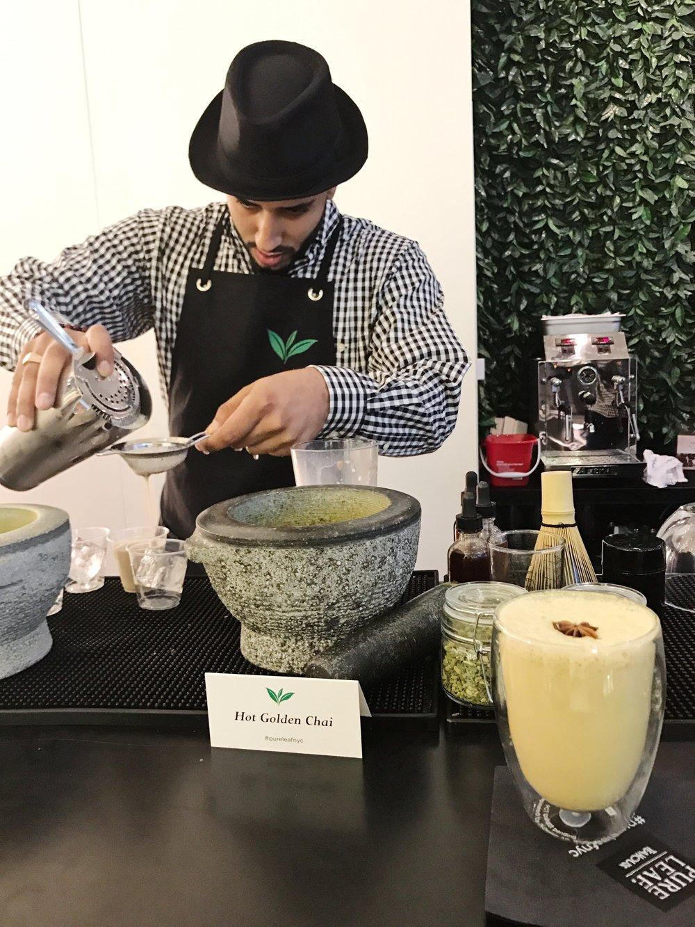 pure leaf tea house nyc teabar tea mixologist