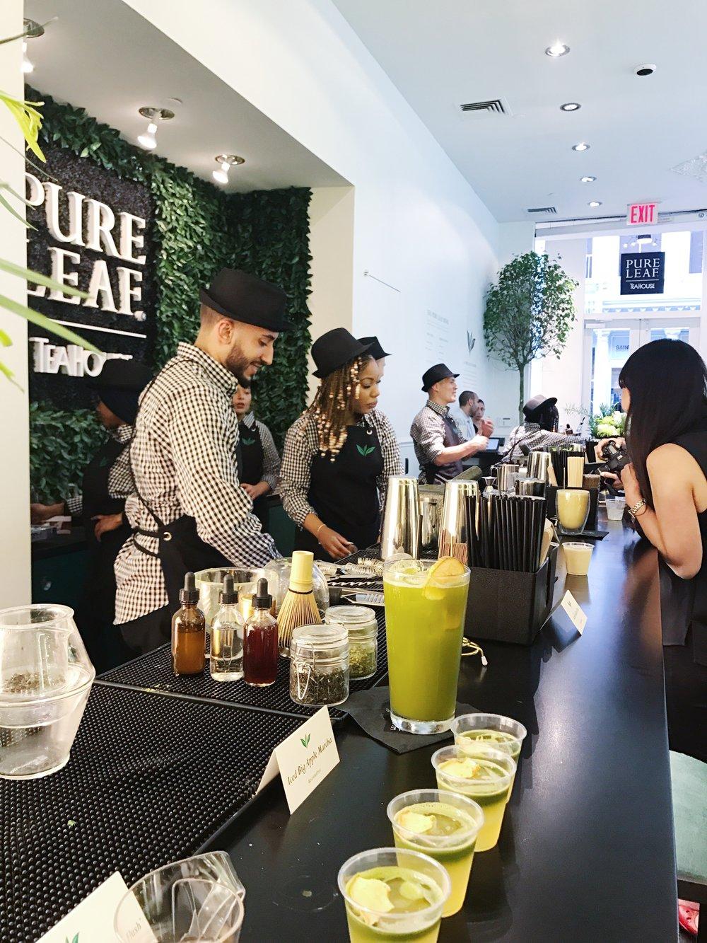pure leaf tea house nyc tea bar