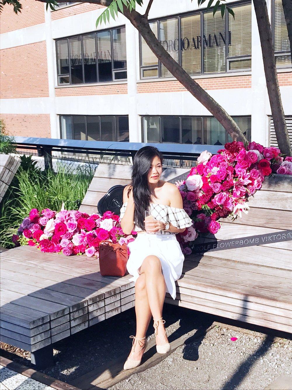leanne wei honeyandvelvet flowerbomb twist viktor & rolf
