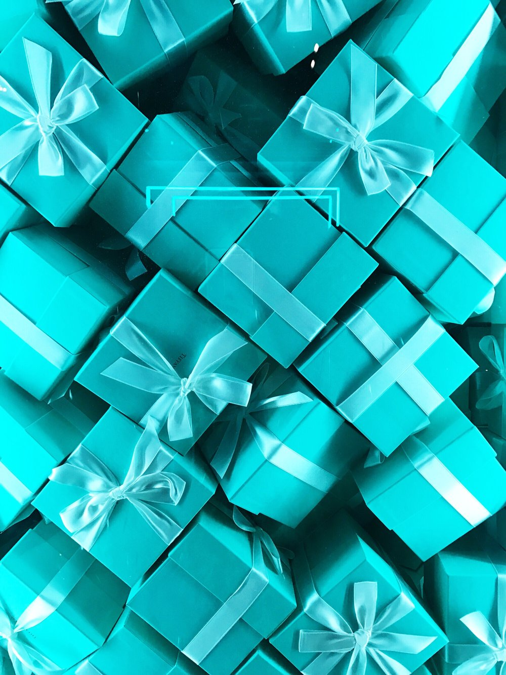 tiffany & co fragrance blue box