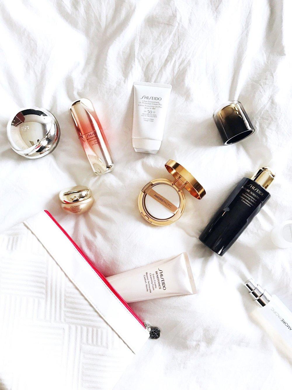 shiseido benefiance amorepacific honey & velvet