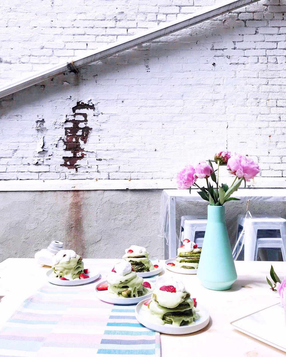 ma matcha pancakes brunch nyc