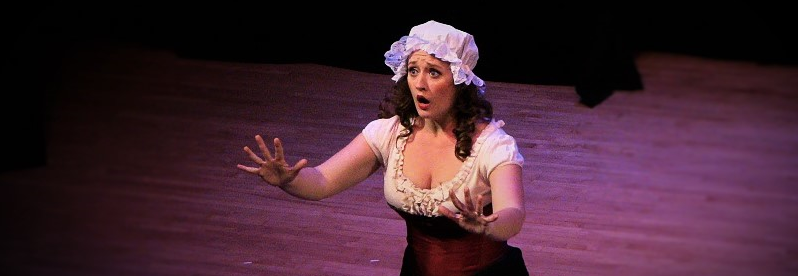 Susanna in Le Nozze di Figaro with  Opera on Tap  Education Outreach Performance
