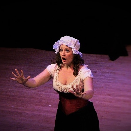 Performance of Susanna in Le Nozze di Figaro, for Opera on Tap