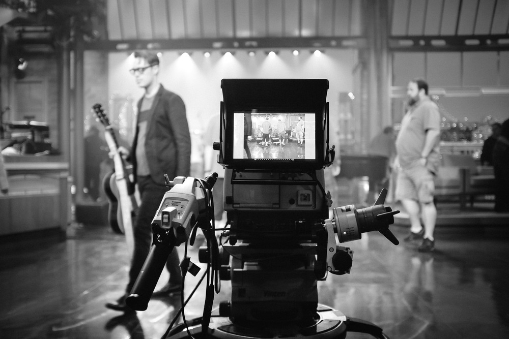 David Letterman Show, with Jeremy Messersmith