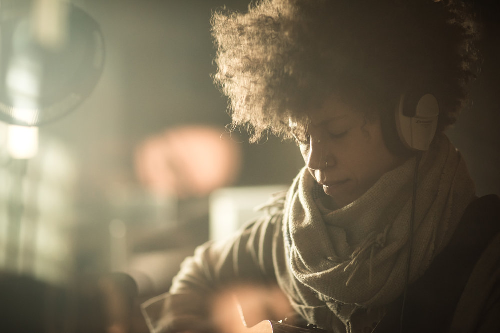 Chastity Brown - In the studio