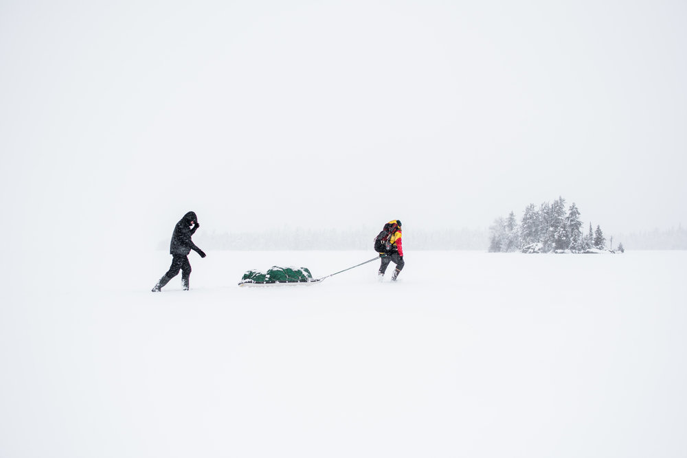 Winter in the Boundary Waters