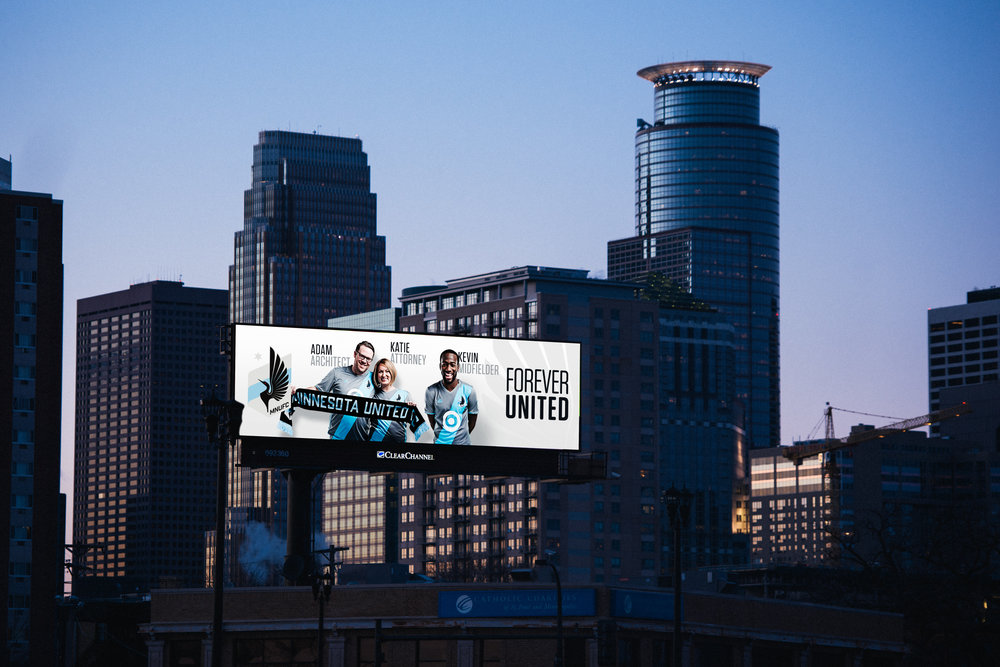 MN United FC - Outdoor campaign