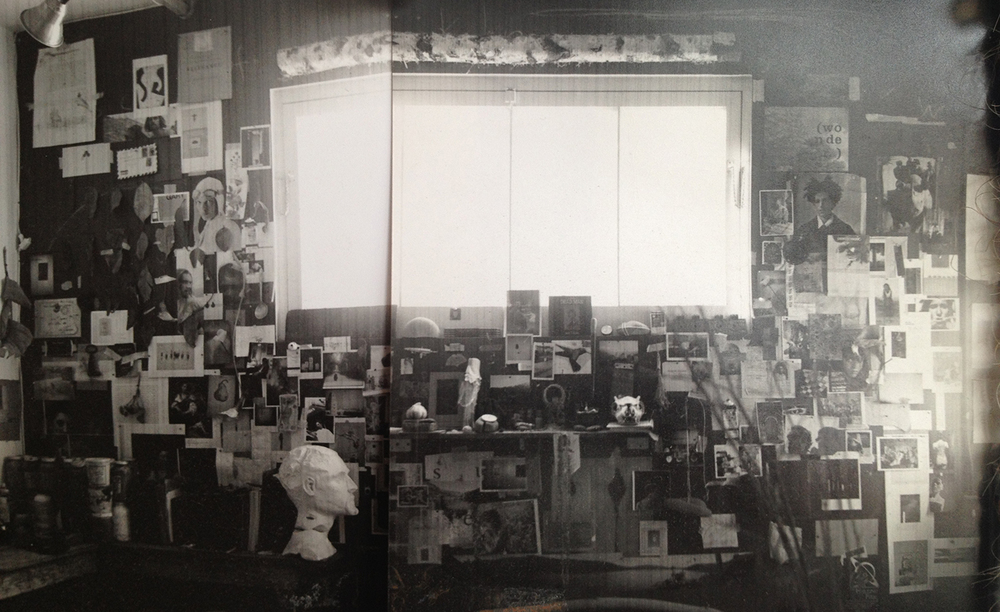 My first studio after college. San Francisco, 1996