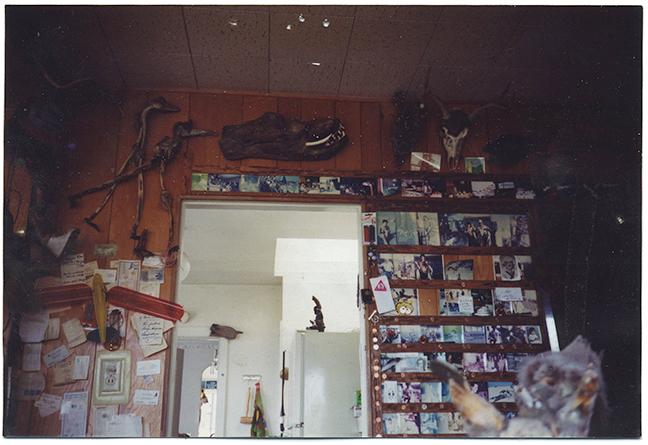 Inspiration: My grandfather's wall, circa 1982.