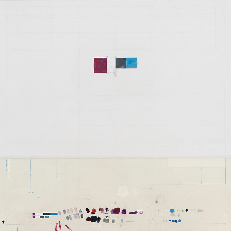 A Beautiful Expanse, 2014 | Acrylic on Canvas over Panel, 55 x 55 inches